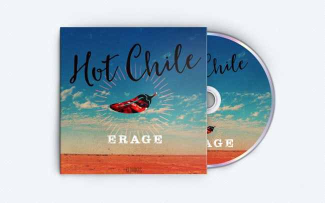 erage - hot chile - single art
