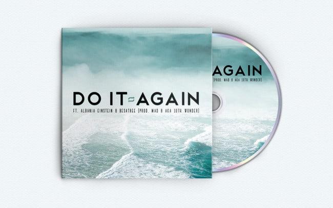 mad b - do it again - album art design