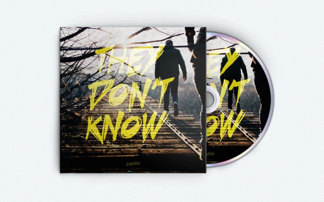 conro - they dont know - album art design