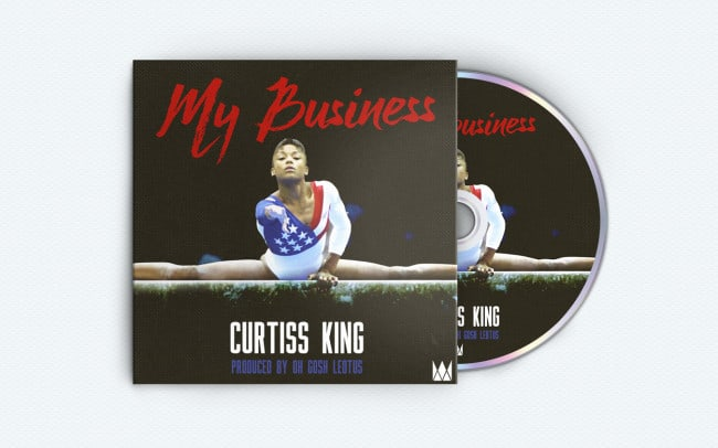 curtiss king - my business - album art design
