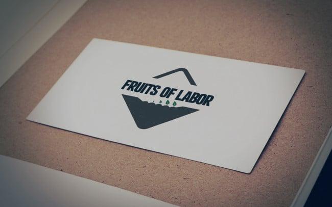 fruits of labor - logo design