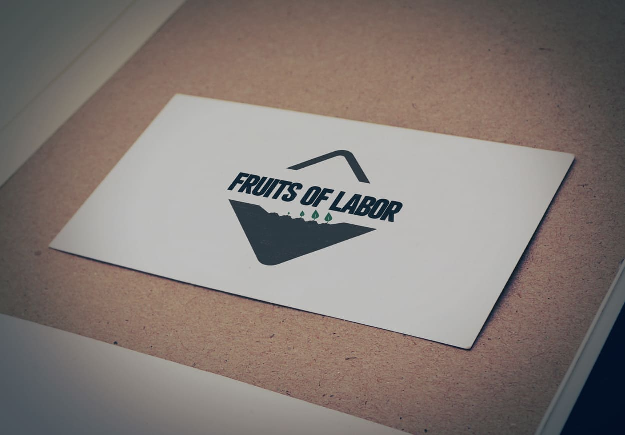 fruits of labor - logo design