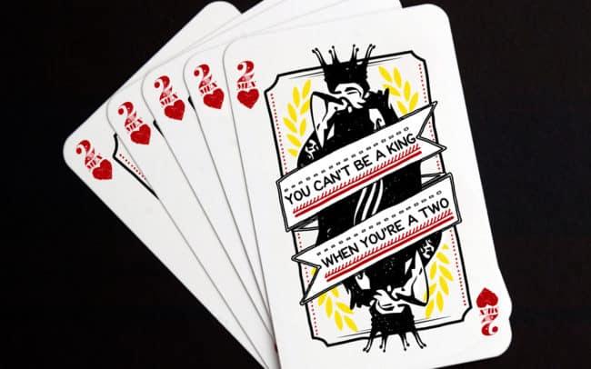 2mex - playing card - sticker design