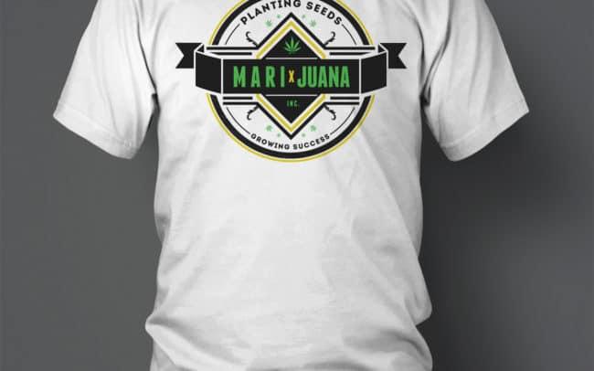 marixjuana - t-shirt design
