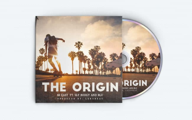 60 east - the origin - album art design