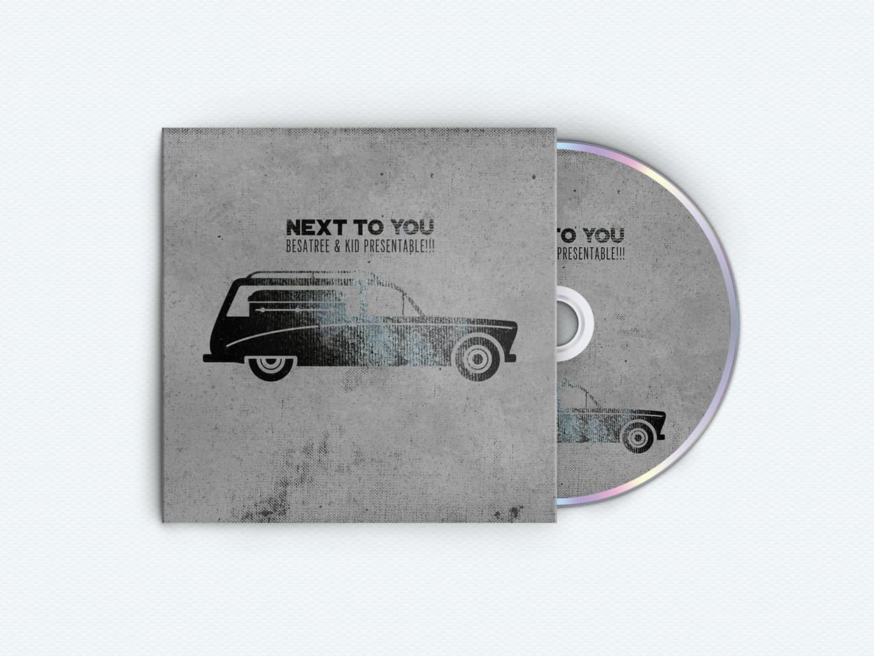next to you - album art design
