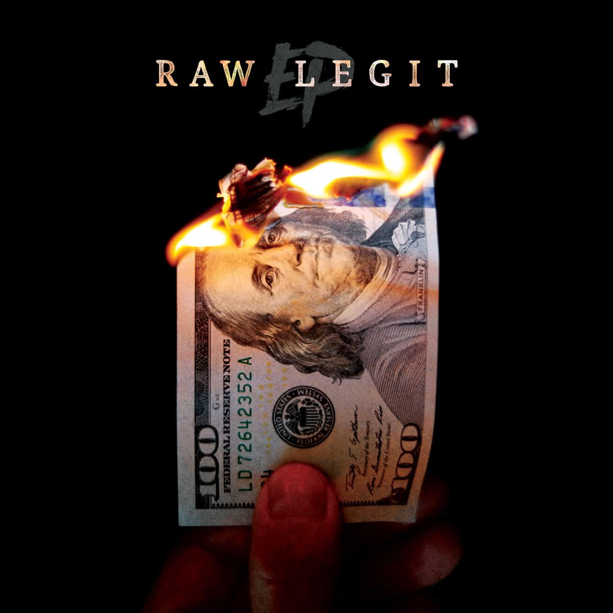 raw legit - ep - album art design