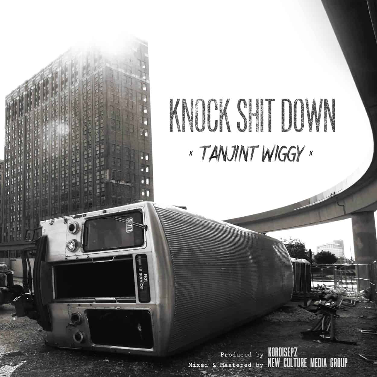 knock shit down - album art design
