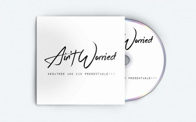 aint worried - album art design