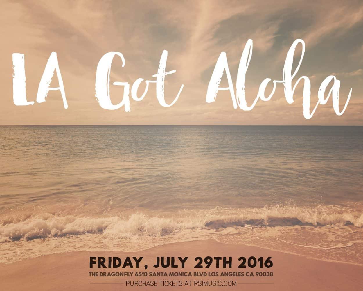 la got aloha - promo ad