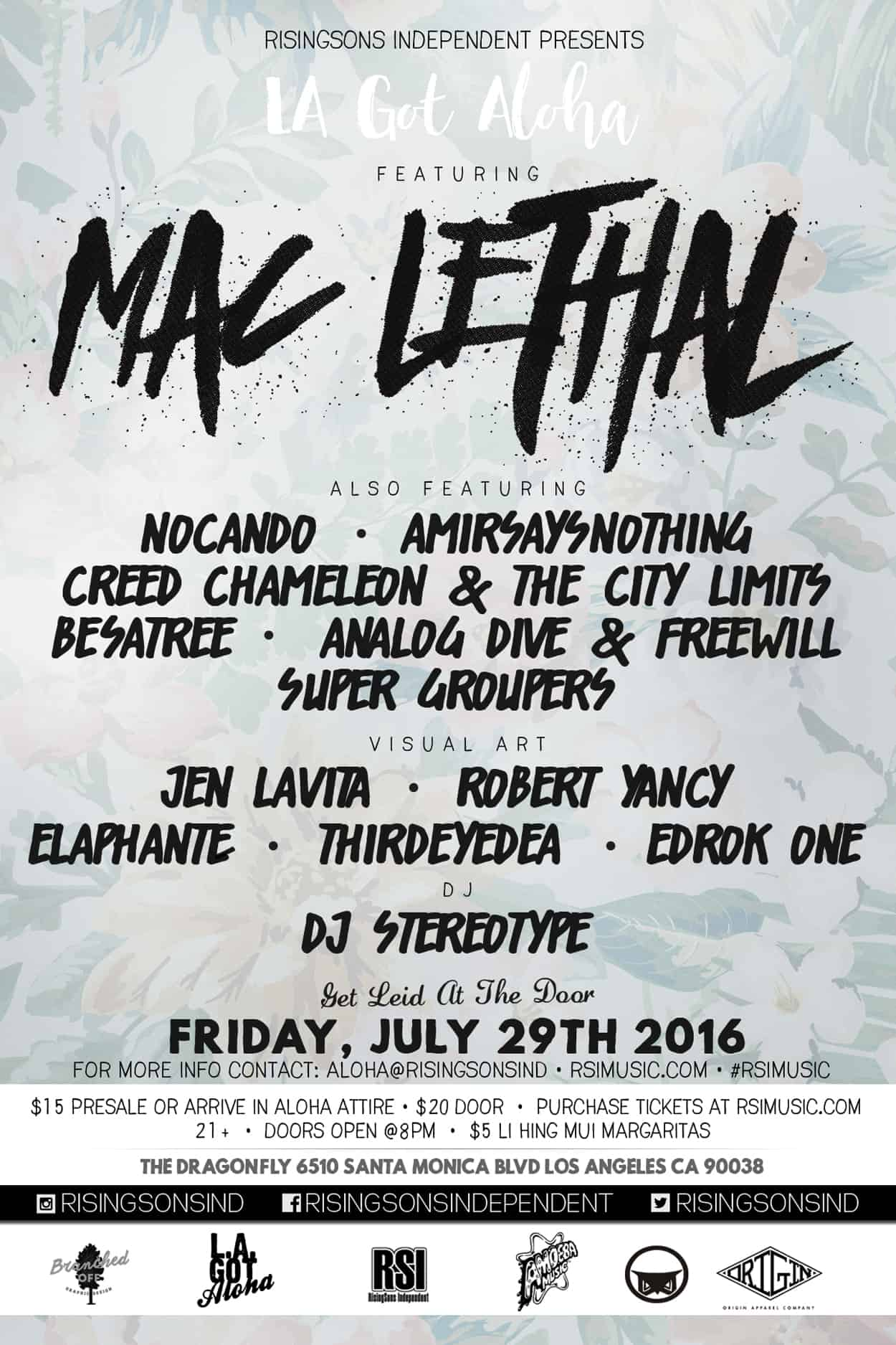 rsi - mac lethal - flyer design