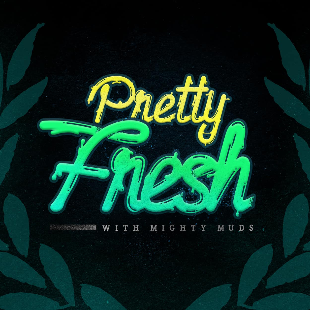 pretty fresh podcast - logo design