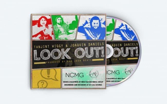 Tanjint Wiggy and Joaquin Daniels - Look Out - Album Art Design