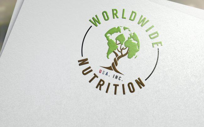 worldwide nutrition usa inc - logo design