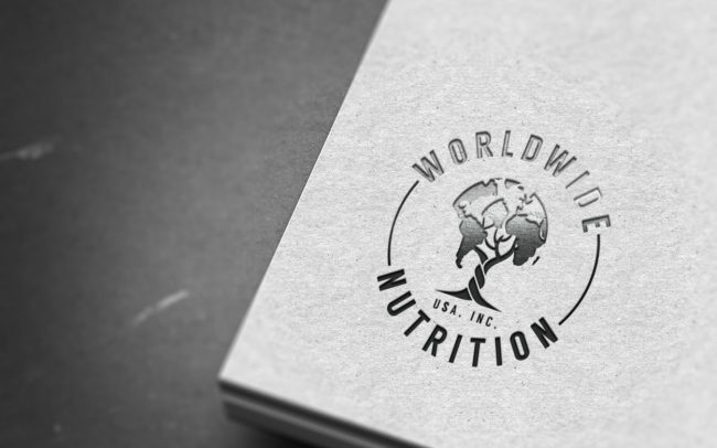 worldwide nutrition usa inc - logo design
