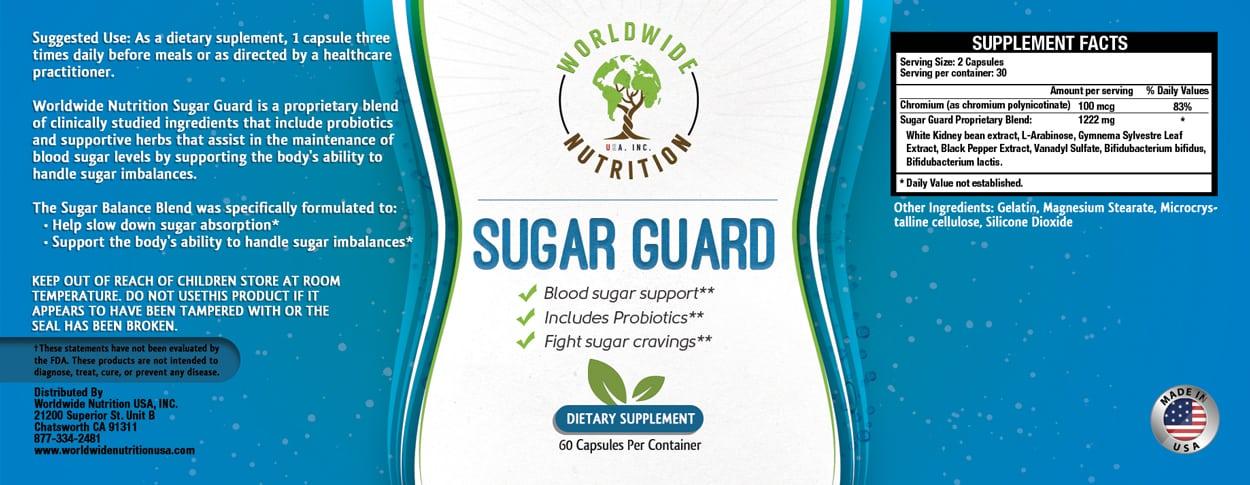 worldwide nutrition - label design