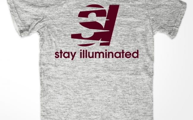 stay illuminated - new balance - shirt design