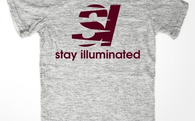 stay illuminated - new balance - shirt design