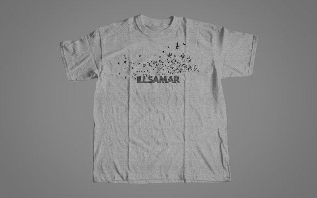 illsamar - for the birds - shirt design