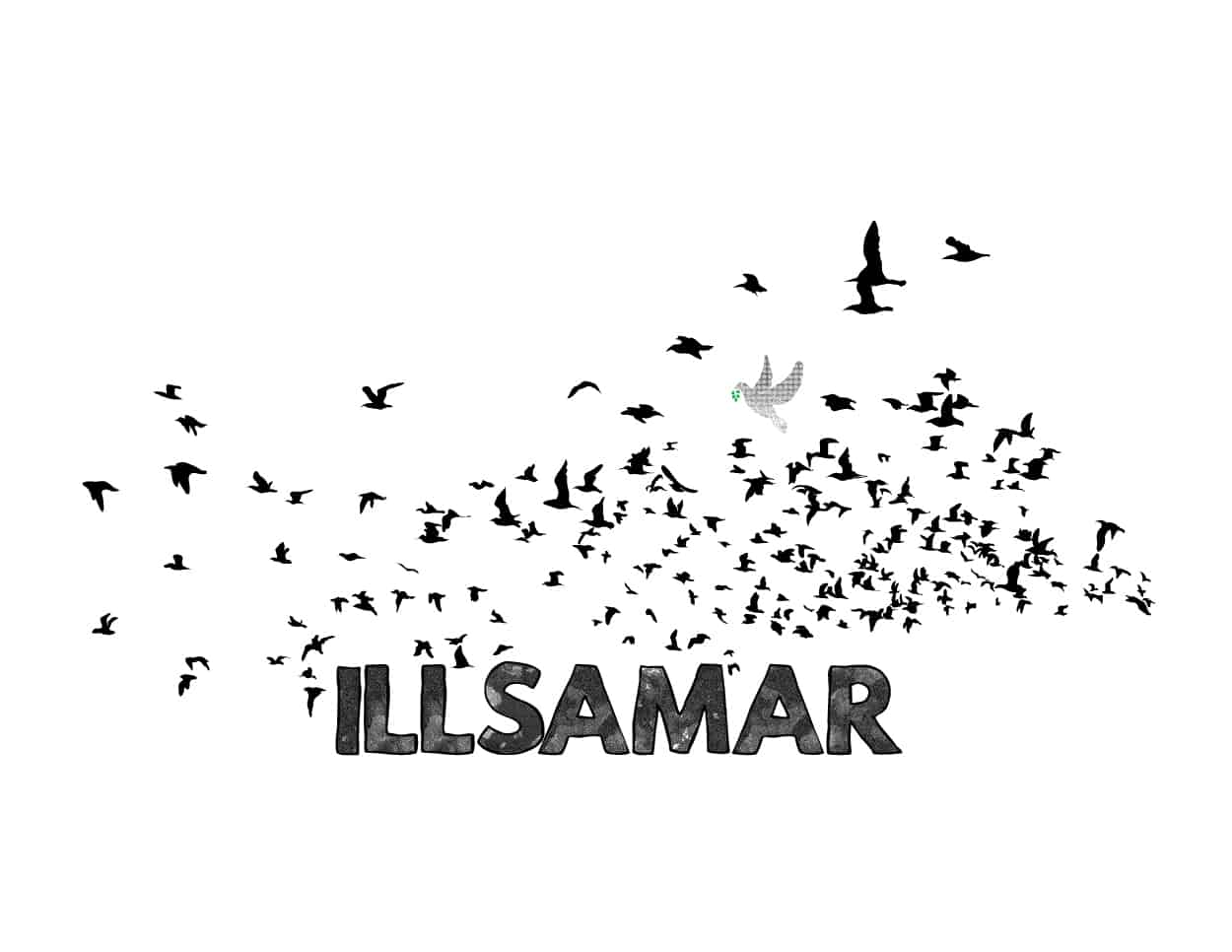 illsamar - for the birds - shirt design