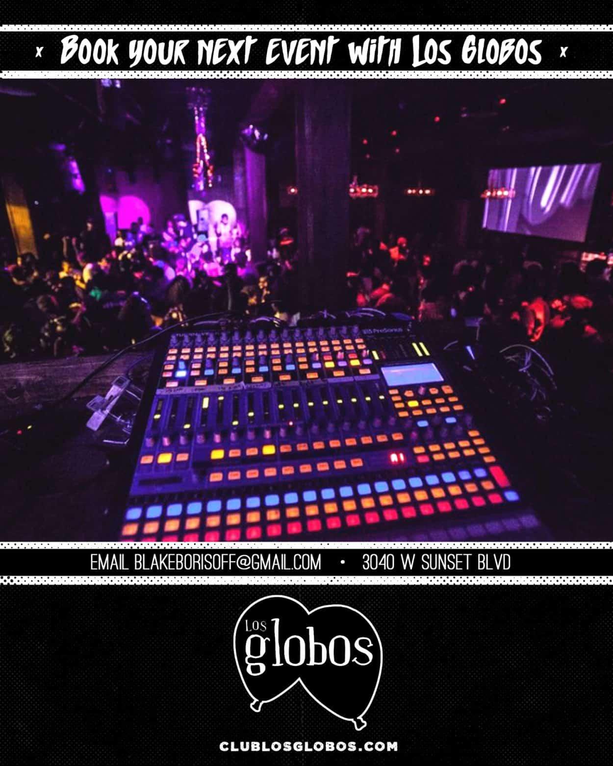 los globos - instagram ads
