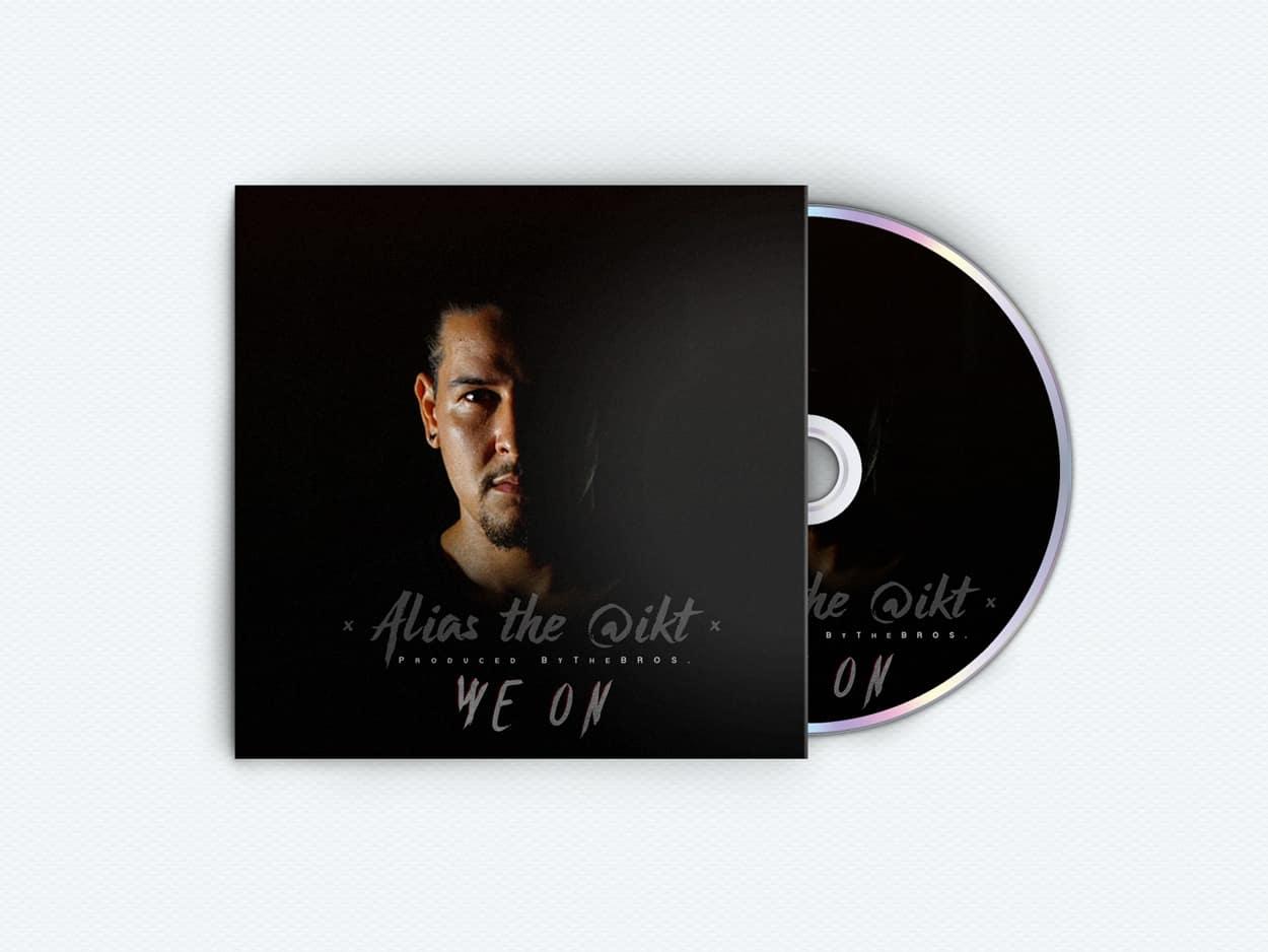 alias the @ikt - we on - album art design