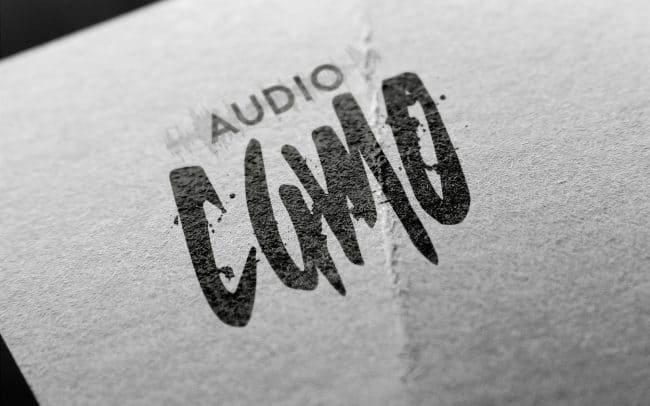 audio camo - logo design