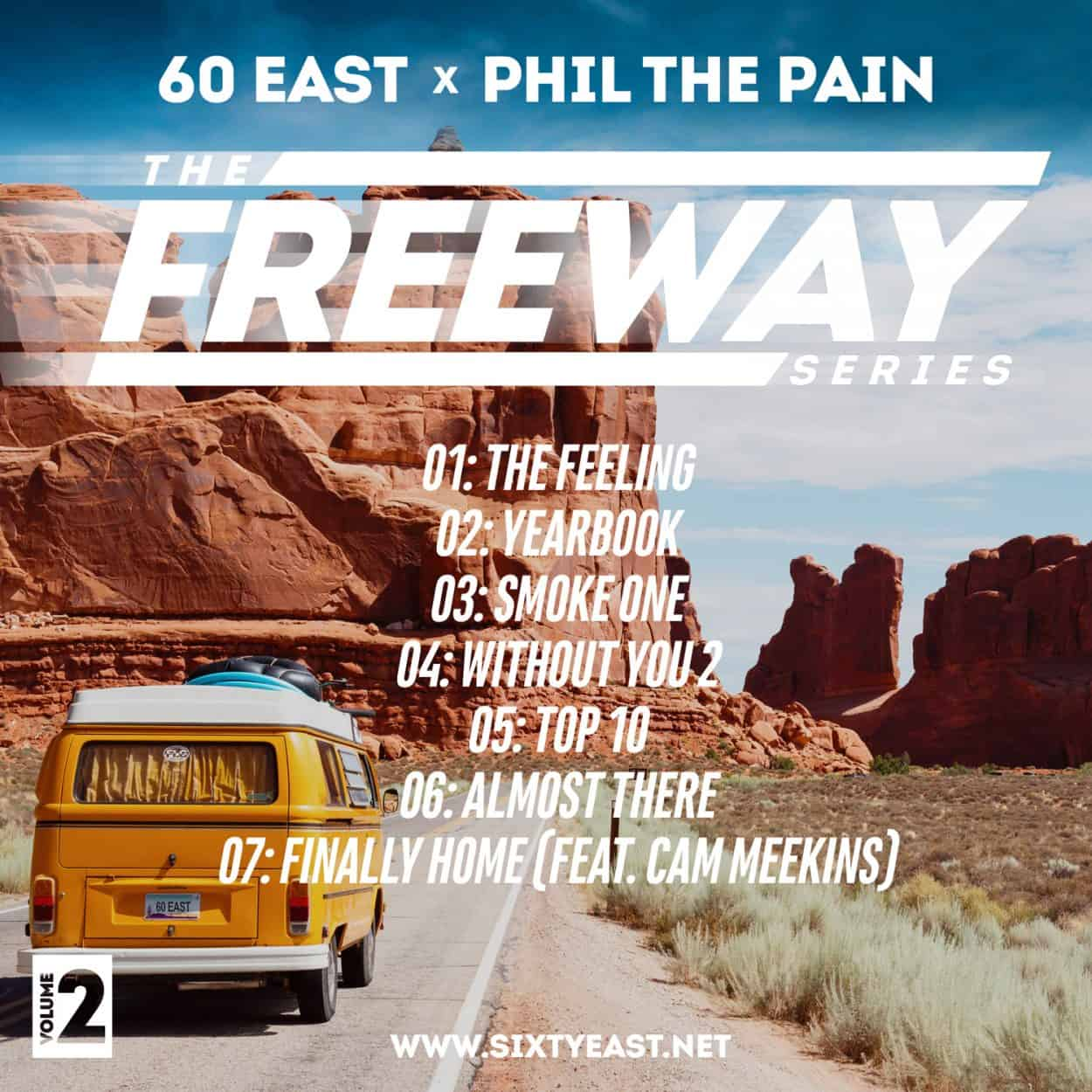 the freeway series vol 2 - album art design