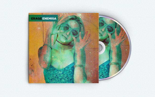 erage - enemiga - album art design