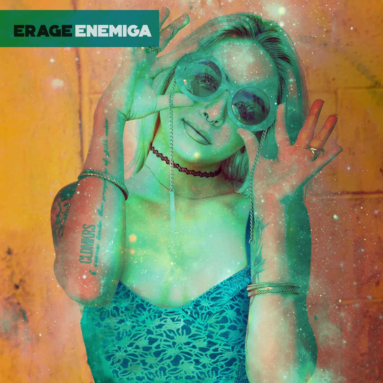 erage - enemiga - album art design