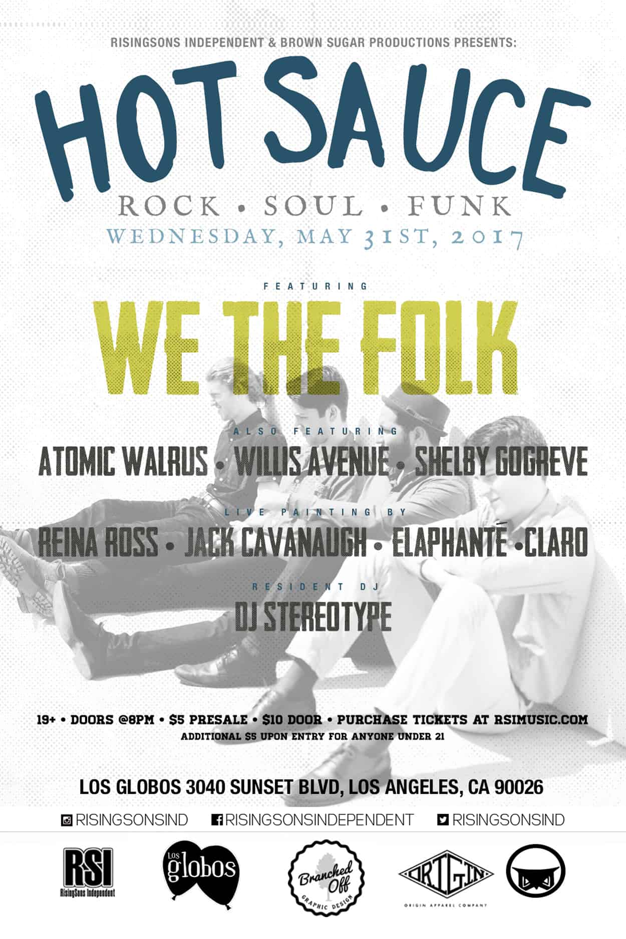 Hot Sauce - We The Folk - Flyer Design