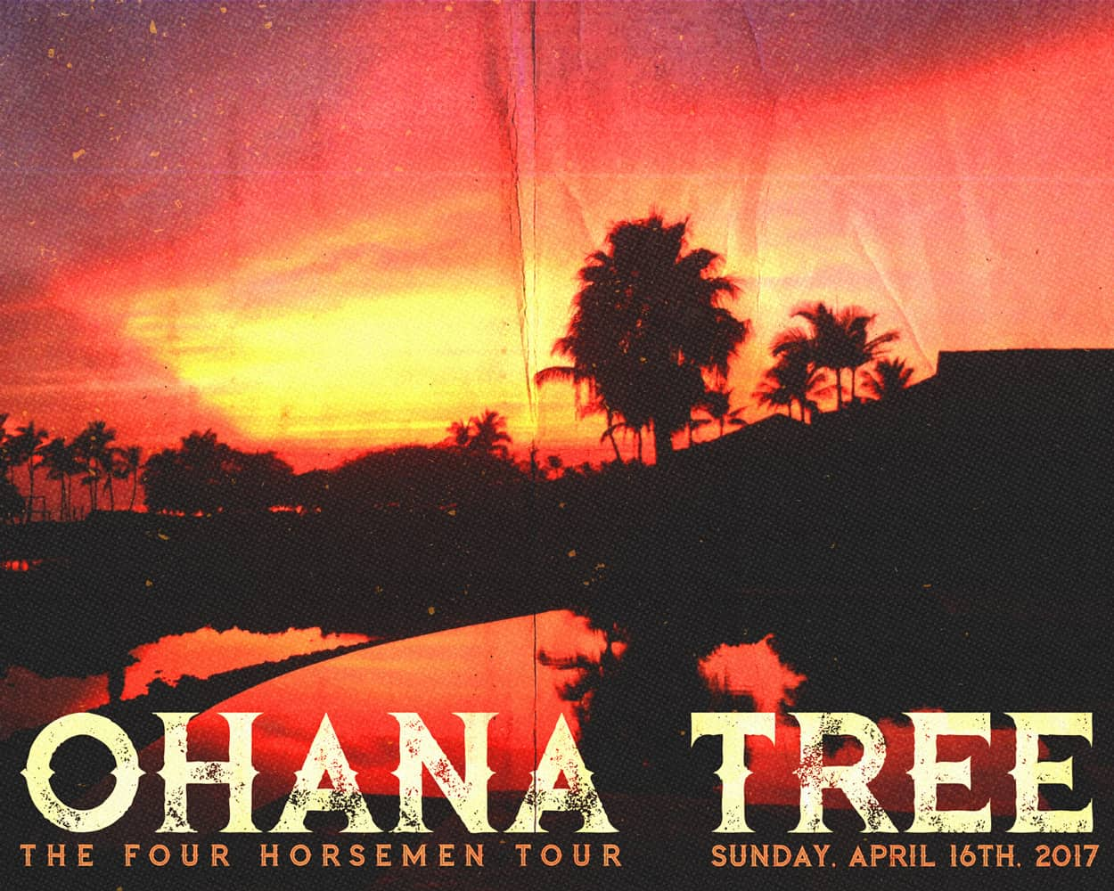 RSI - Ohana Tree - Four Horsemen Tour - Instagram Ad Design