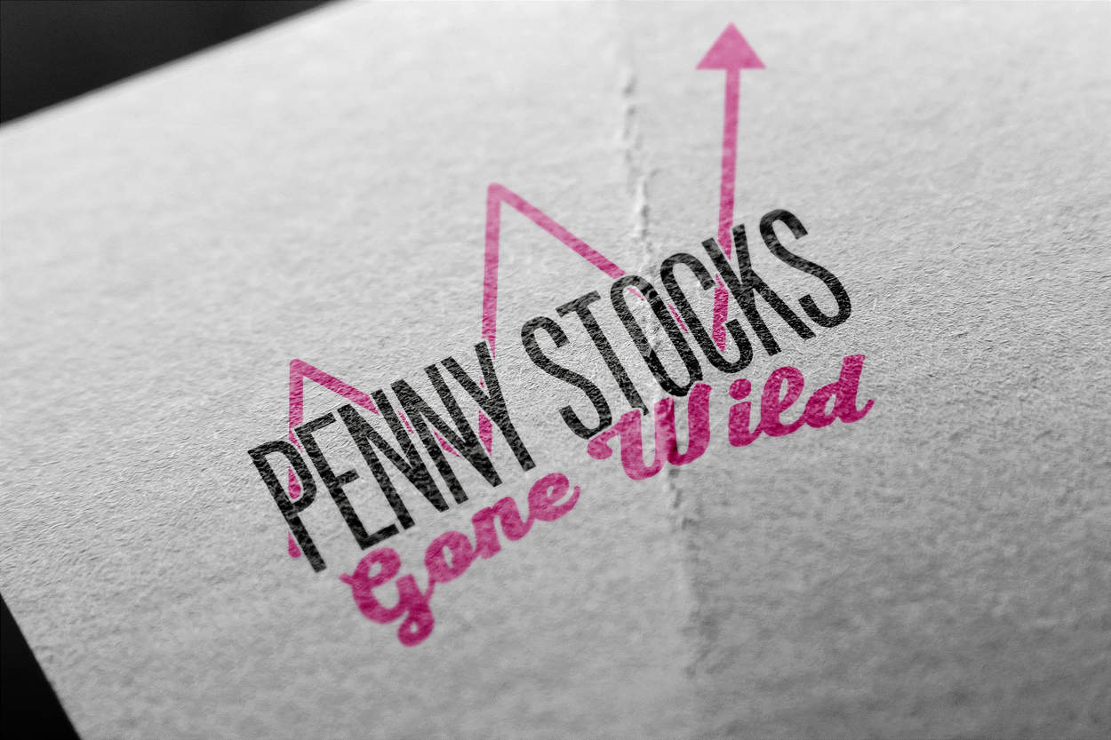 Penny Stocks Gone Wild - Logo Design