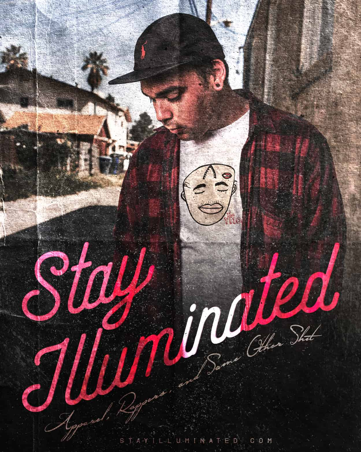 Stay Illuminated - Instagram Ad Design